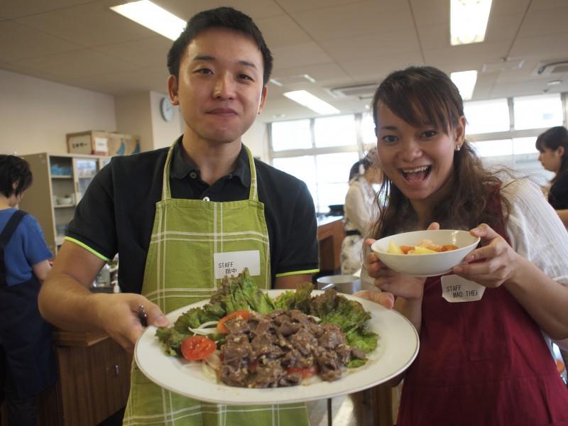 2014/09/13(土)カンボジア料理教室②