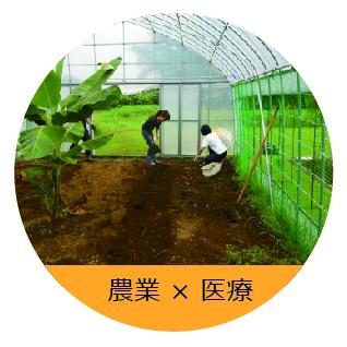医療と農業